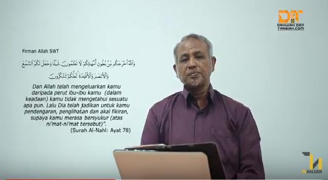 Photo of Video: Siri Kebangkitan Iman (2): Antara Sayangkan Ibu Dan Sayangkan Allah Subhanahuwata'ala