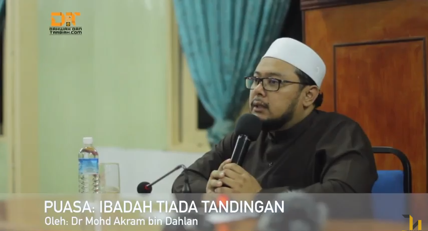 Photo of Video: Puasa: Ibadah Tiada Tandingan