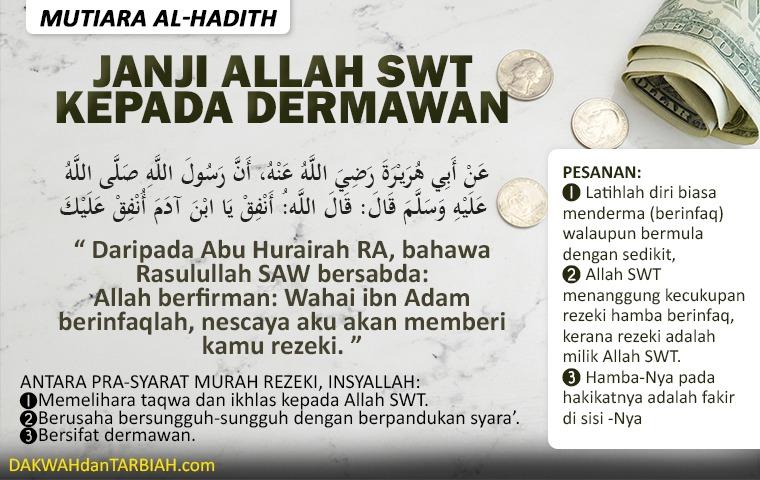 Photo of Janji Allah Swt Kepada Dermawan
