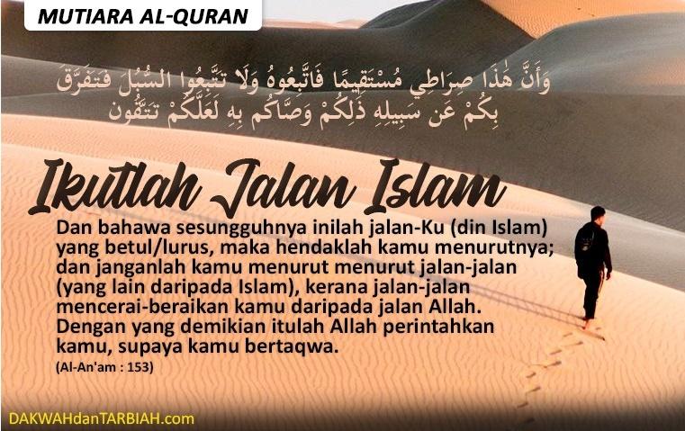Photo of Ikutilah Jalan Islam