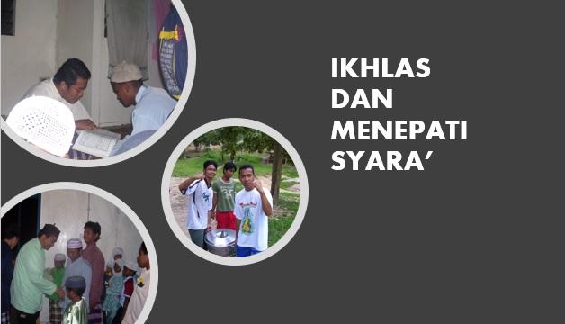 Photo of Tajuk Pilihan Pemantapan Pendakwah (4): Kerja Ikhlas & Tepat Menurut Syara'