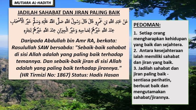 Photo of Jadilah Sahabat/Jiran Yang Baik