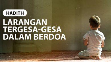 Photo of LARANGAN TERGESA-GESA DALAM BERDOA